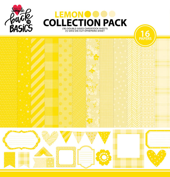 Back To Basics Lemon Collection Pack