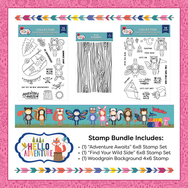 Hello Adventure Stamp Bundle