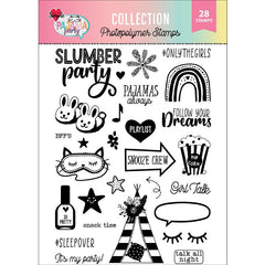 Pajama Party 6x8 Stamp Set
