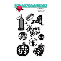The Empire State: New York City 4x6 Stamp