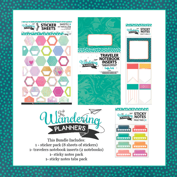 Crafty Girls - The Wandering Planners Bundle