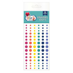 Hello Adventure Enamel Dots