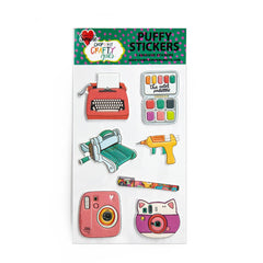 Crafty Girls Puffy Sticker