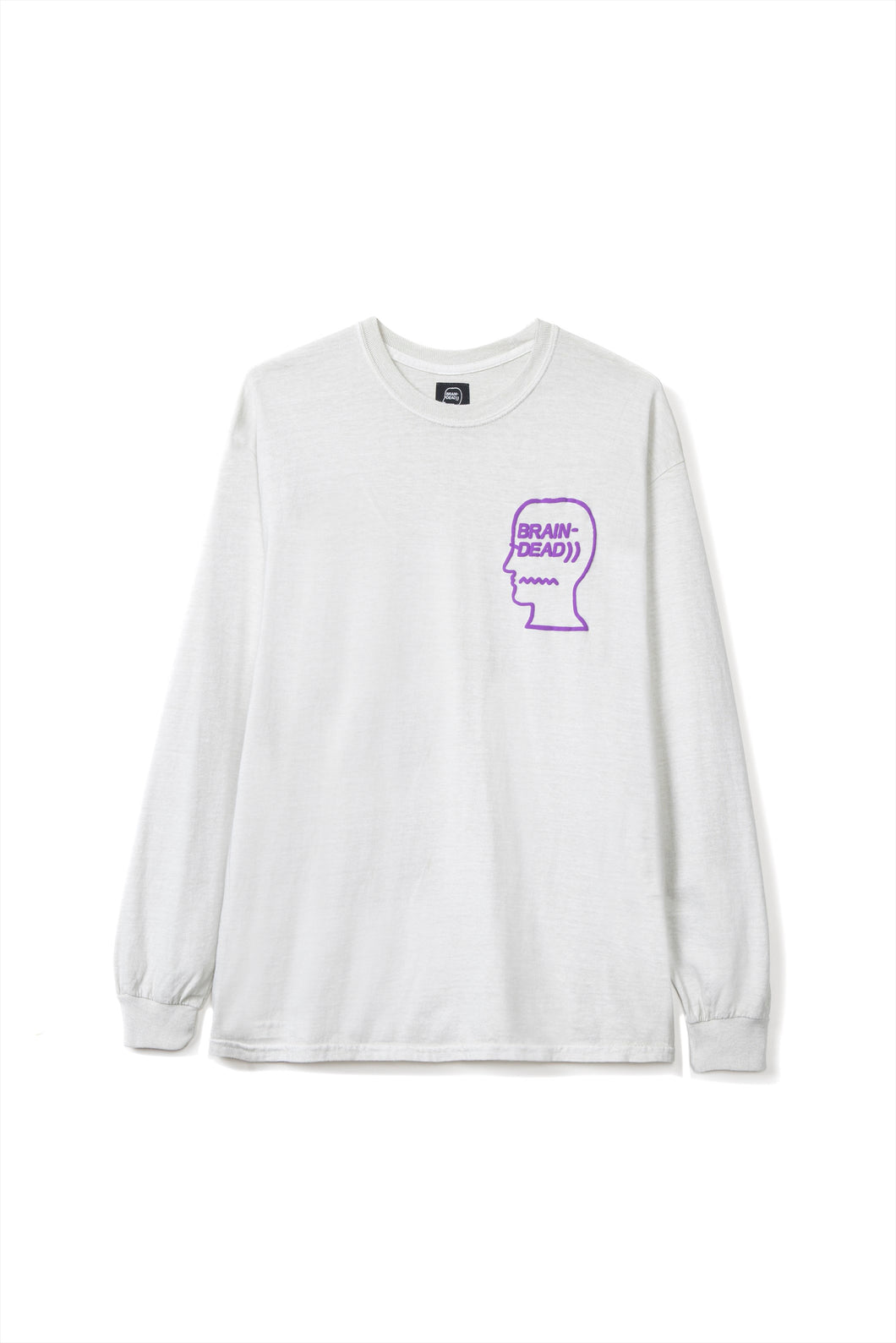 Brain Dead - VIBRATION LONG SLEEVE TEE