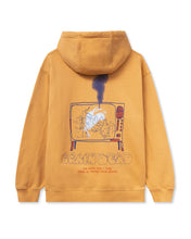 画像をギャラリービューアに読み込む, Brain Dead FURTHER FROM HEAVEN LONG SLEEVE HOODED SWEATSHIRT - TERRACOTTA