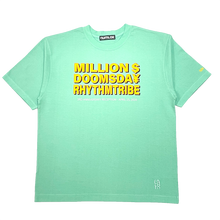 画像をギャラリービューアに読み込む, rhythm tribe × Million Dollar Doomsday  LAHR $¥TEE / Green