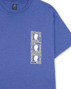 Brain Dead / PHASE ECOLOGY SOUND SHORT SLEEVE - FROSTED PURPLE