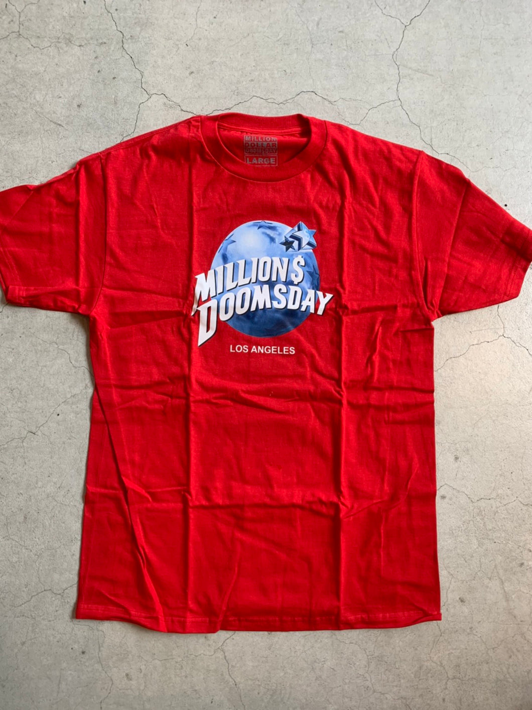 Million Dollar Doomsday planetdoomsday (tshirt)
