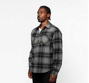 STUSSY / MAX PLAID QUILTED SHIRT