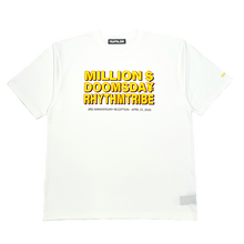 画像をギャラリービューアに読み込む, rhythm tribe × Million Dollar Doomsday  LAHR $¥TEE / White