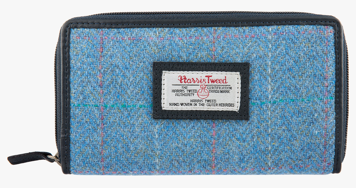 Harris Tweed Large Purse