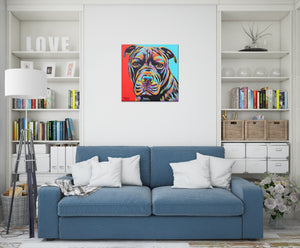 Canine Buddy | Canvas Print
