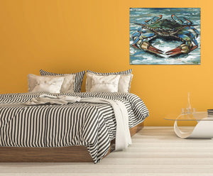Blue Crab II | Canvas Print