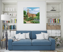 Load image into Gallery viewer, Bruton Parish Church | Original Acrylic Painting