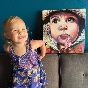 Commissioned Portrait | Canvas Print