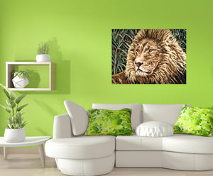 Cecil The Lion | Canvas Print