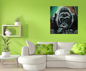 Colo the Gorilla | Canvas Print