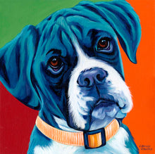 Load image into Gallery viewer, Cute Boxer | Original Acrylic Painting