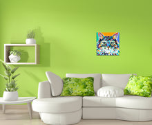 Load image into Gallery viewer, Dramatic Cat | Canvas Print