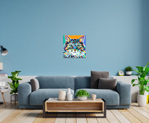 Dramatic Cat | Canvas Print