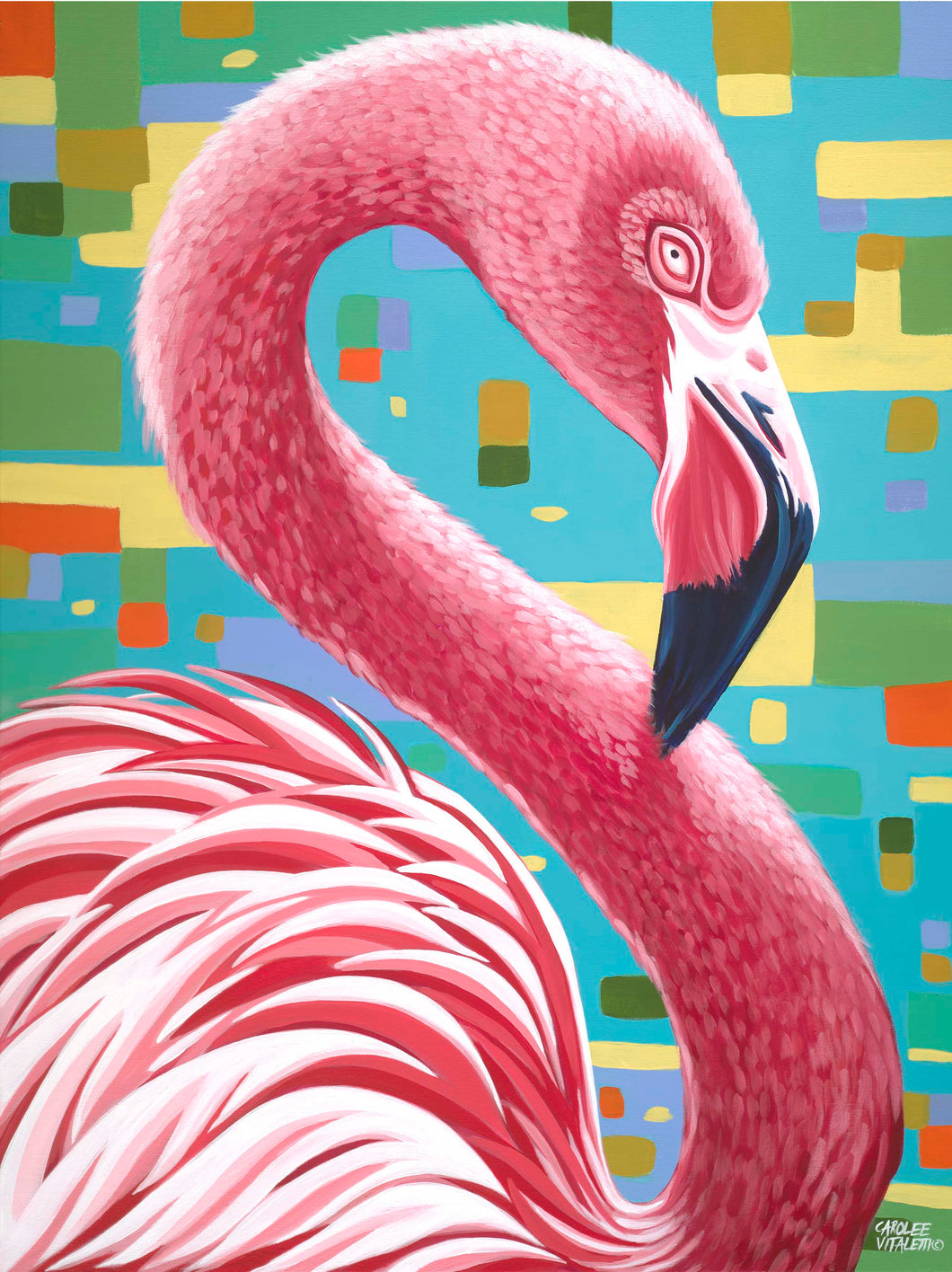 Fabulous Flamingo | Canvas Print