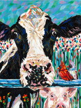 Load image into Gallery viewer, Farm Buddies | Original Acrylic Painting