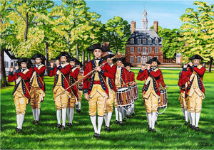 Fife & Drum | Canvas Print
