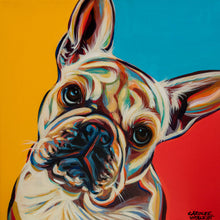 Load image into Gallery viewer, French Bulldog I | Canvas Print