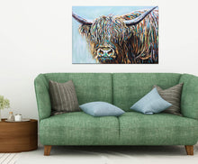 Load image into Gallery viewer, Highland Cattle I | Canvas Print