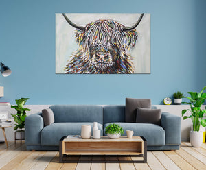 Highland Cattle II | Canvas Print