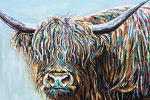 Highland Cattle I | Canvas Print