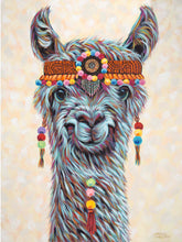 Load image into Gallery viewer, Hippie Llama | Canvas Print