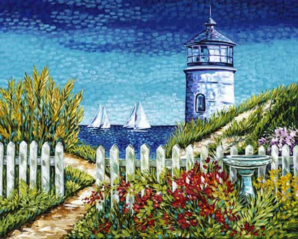 Light House Retreat | Canvas Print