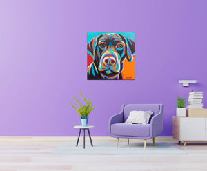Lucky Lab | Canvas Print