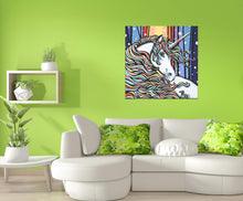 Load image into Gallery viewer, Magical Unicorn | Original Acrylic Painting