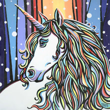 Load image into Gallery viewer, Enchanting Unicorn | Original Acrylic Painting