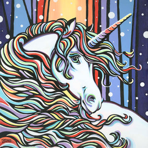 Magical Unicorn | Original Acrylic Painting