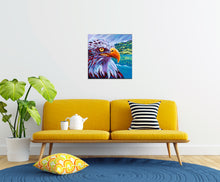 Load image into Gallery viewer, Majestic Eagle painting in sitting room