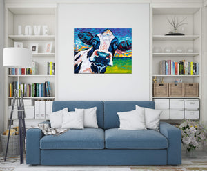 Dairy Cow | Canvas Print