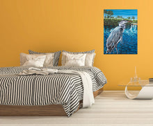 Load image into Gallery viewer, Peaceful Heron | Canvas Print