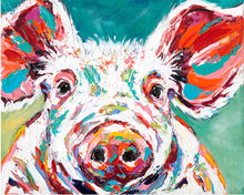 Load image into Gallery viewer, Pink Piglet | Original Acrylic Painting