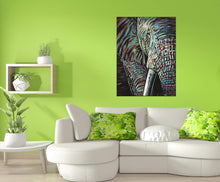 Load image into Gallery viewer, Powerful Elephant | Canvas Print