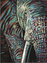 Load image into Gallery viewer, Powerful Elephant | Original Acrylic Painting