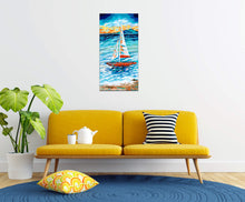 Load image into Gallery viewer, Sailboat | Canvas Print