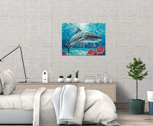 Sealife Shark | Canvas Print
