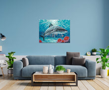 Load image into Gallery viewer, Sealife Shark | Canvas Print