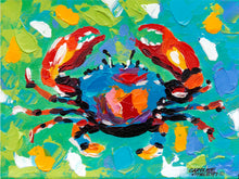 Load image into Gallery viewer, Seaside Crab | Canvas Print