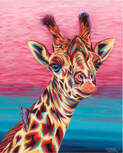 Load image into Gallery viewer, Sky High Giraffe | Canvas Print