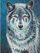 Load image into Gallery viewer, Wolf Spirit Animal | Original Acrylic Painting