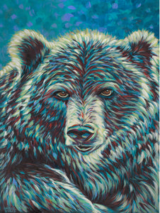 Bear Spirit Animal Painting